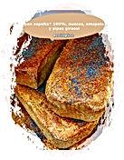 pan espelta 100%, nueces, amapola y pipas girasol