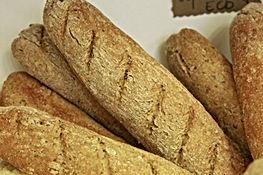 Flauta de lino con harina de espelta y avena
