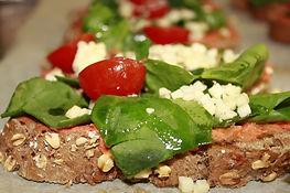 Pizza vegetal de espelta integral