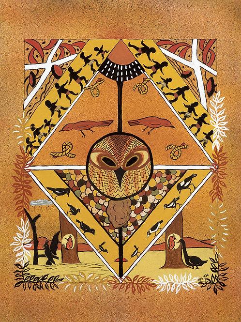 Goongingore - The Wise Owl