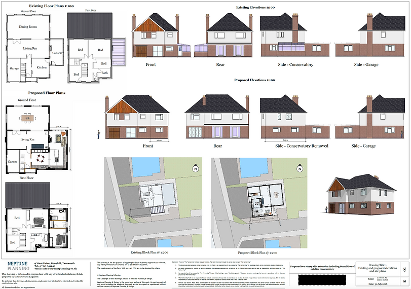 Proposed Extension - Tamworth