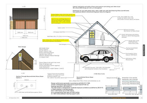 Building Regulations Compliant Plans Tamworth, Birmingham