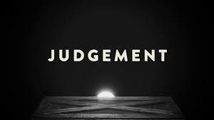 Judgement, kinda