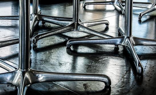 Metal Chairs 73x120 cm