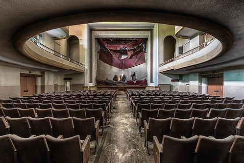 Il teatro di fama mondiale Formaat 100x150cm