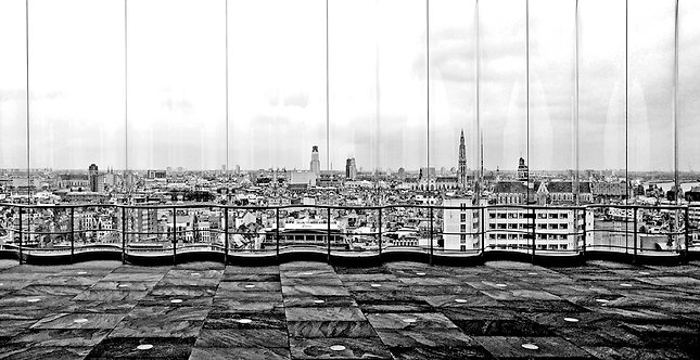 Panoramic view 62x120cm
