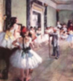 Edgar Degas : La classe de danse