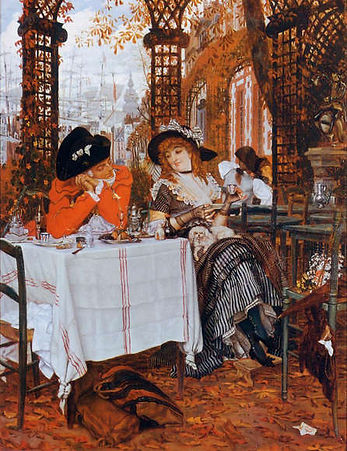 James Tissot : A Lucheon