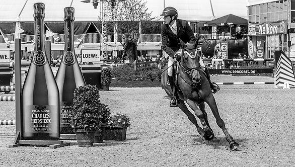 Jumping Antwerp 51x90 cm