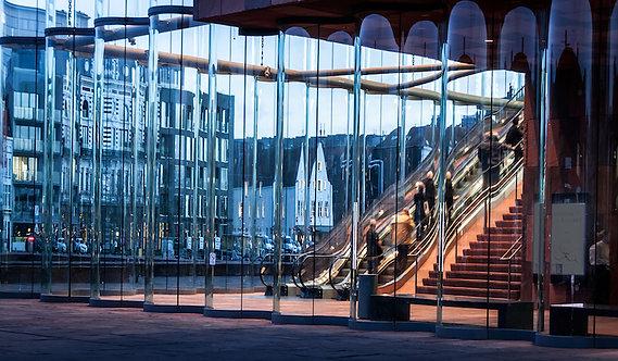 Foto in passepartout 40x60cm : Mas Glas