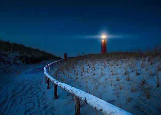 Lighthouse formaat 87x120cm - Plexibond afwerking