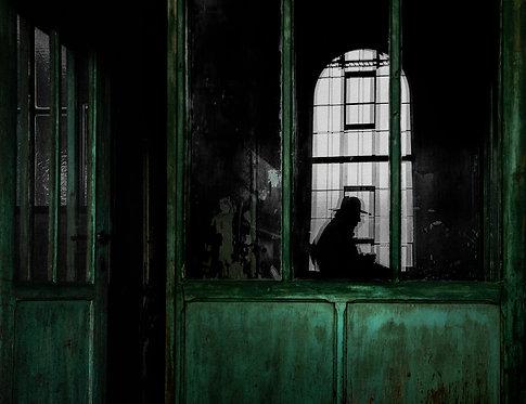 Crime scene 77x100 cm