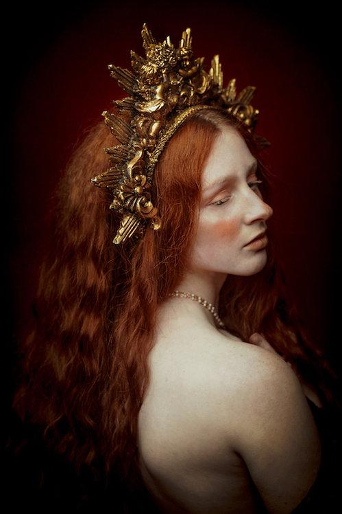 Aureate Soul formaat 60x90cm - Diasec afwerking portretfotografie