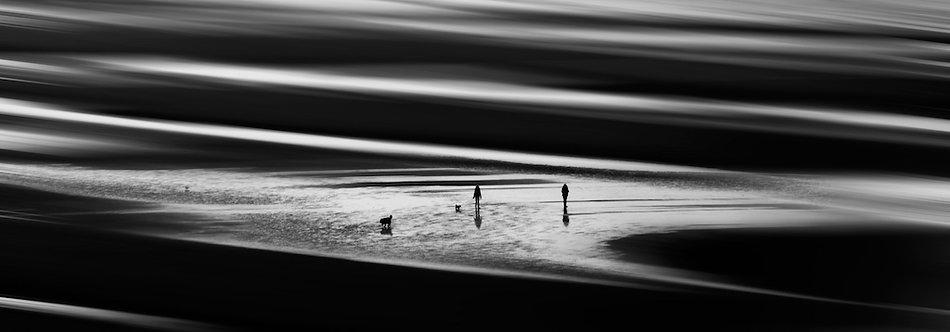 31x90 cm Strandwandeling