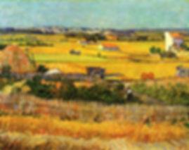 Vincent Van Gogh : Harvest at la Crau