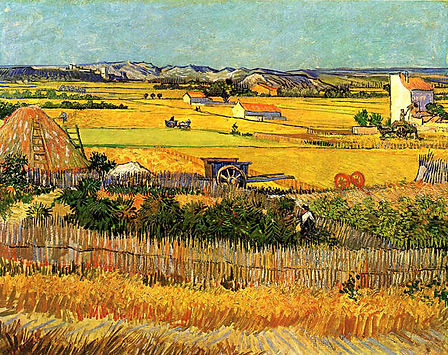 Vincent Van Gogh : Harvest at la Crau