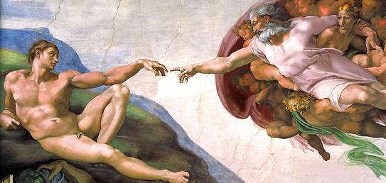 Michelangelo : La creazione di Adamo