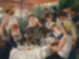 Pierre Auguste Renoir : Lucheon at the Boating Party