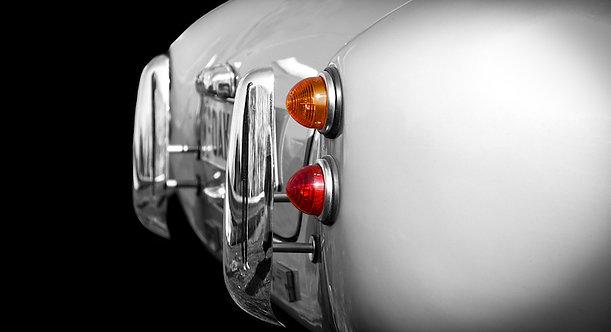 Fotodoek in aluminium wissellijst 80x120cm Oldtimer