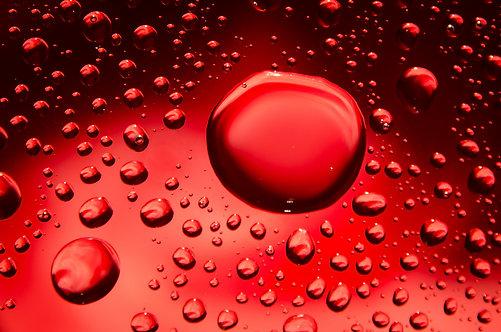 80x120cm Red Drop