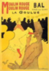 Henri de Toulouse Lautrec : Moulin Rouge La Goulue