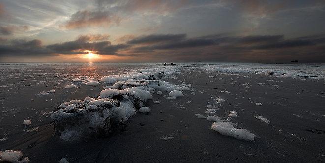 Foamy Beach Formaat 100x150