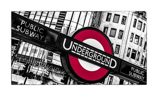 Underground 92x150 cm