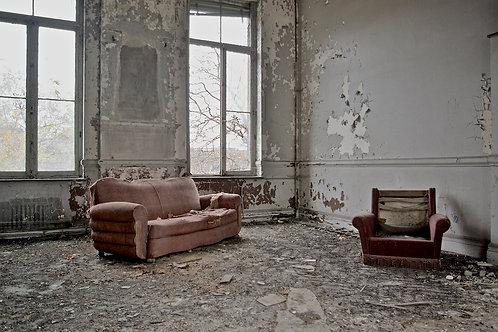 Foto op Diasec 100X70 met ophangsysteem : No sex in the champagne room