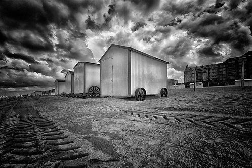 100x150 cm Strandhuisjes