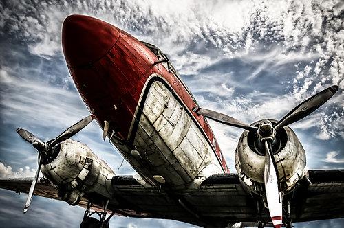 Airplane 80x120 cm