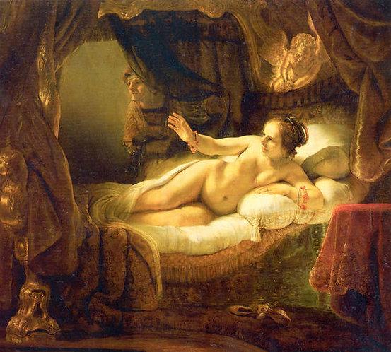 Rembrandt : Danae 120x109 cm