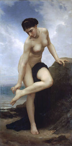 William Adolphe Bouguereau : Apres le bain