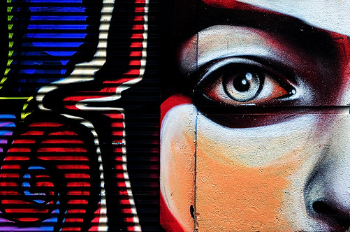60x90cm Street Art
