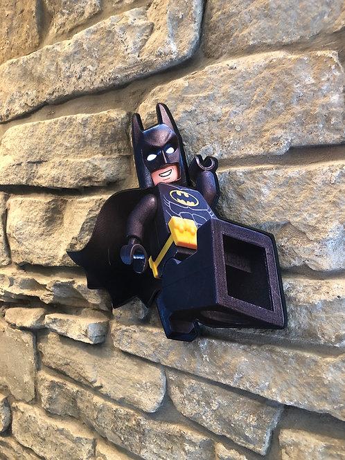 """Lego Batman (from """"Lego Batman movie) Handmade Wooden Wall Decoration"""