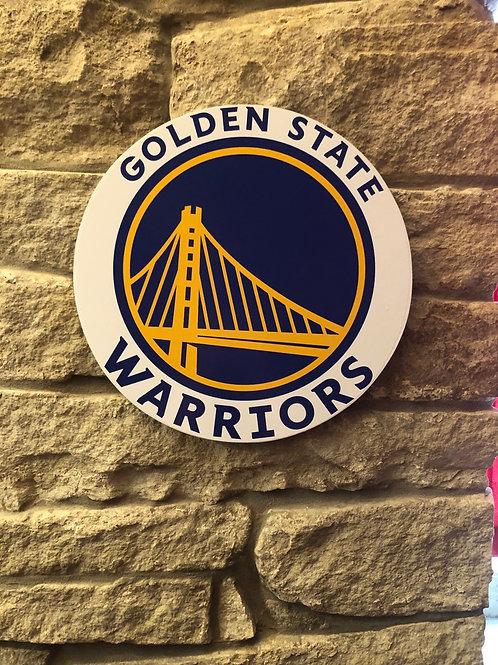 imake NBA Golden State Warriors Wall Badge