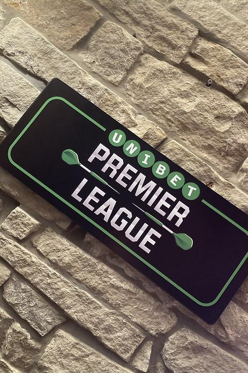UNIBET Premier League Darts Plaque