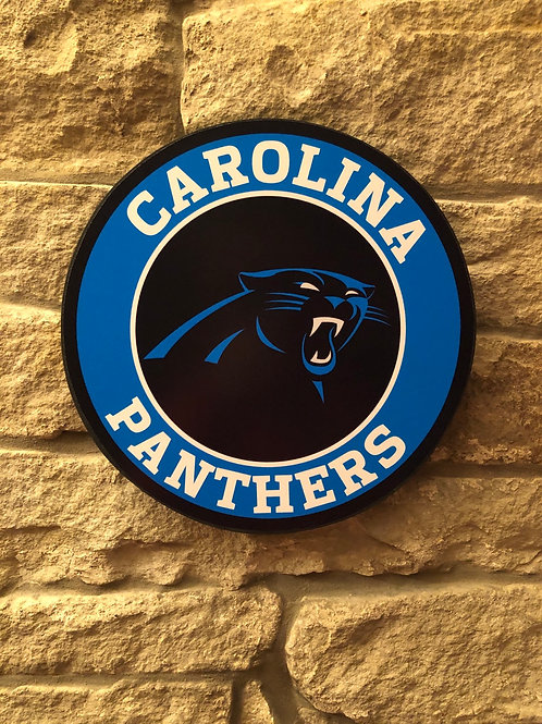 imake NFL Carolina Panthers Wall Badge