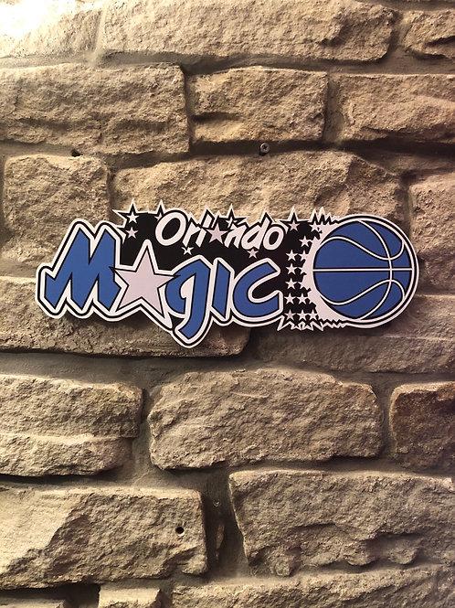 imake NBA Orlando Magic Wall Logo