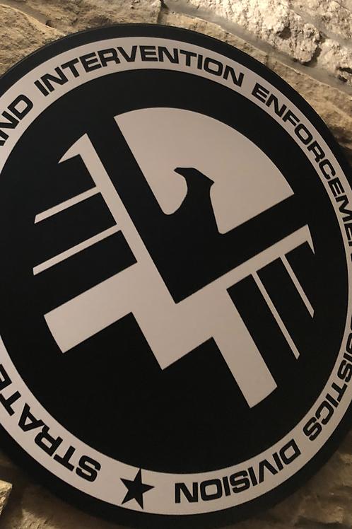 Agents of S.H.I.E.L.D Wooden Wall Badge