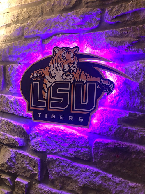 imake NFL LSU Wall Light