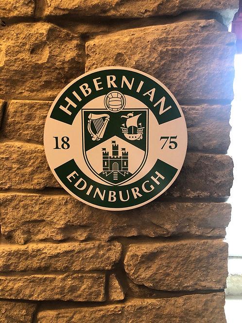 imake Hibernian FC Wall Badge