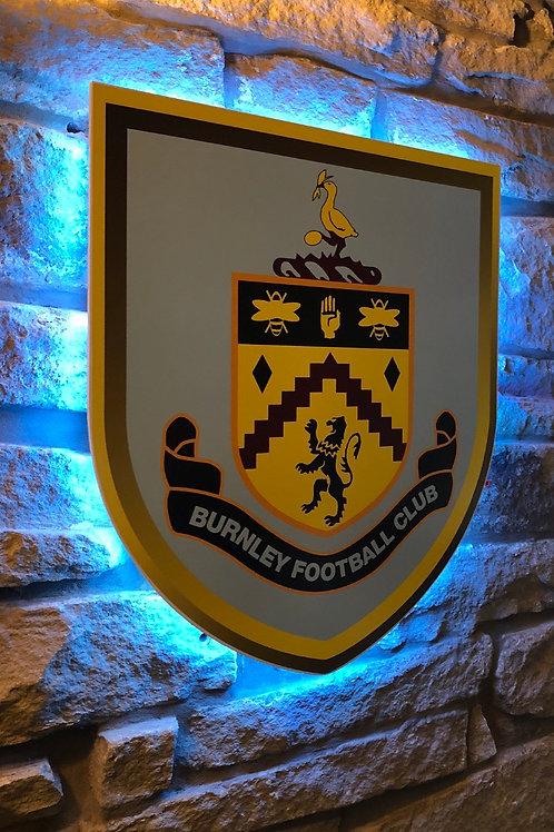 imake Burnley F.C. Wooden Wall Light