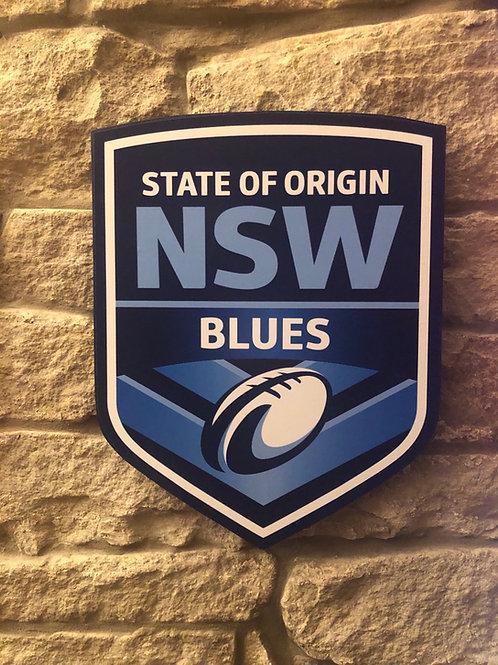 imake NSW State of Origin RL wall badge