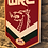 Thumbnail: imake Wales Rugby League Wooden Wall badge