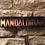 Thumbnail: Mandalorian Wooden Wall Sign