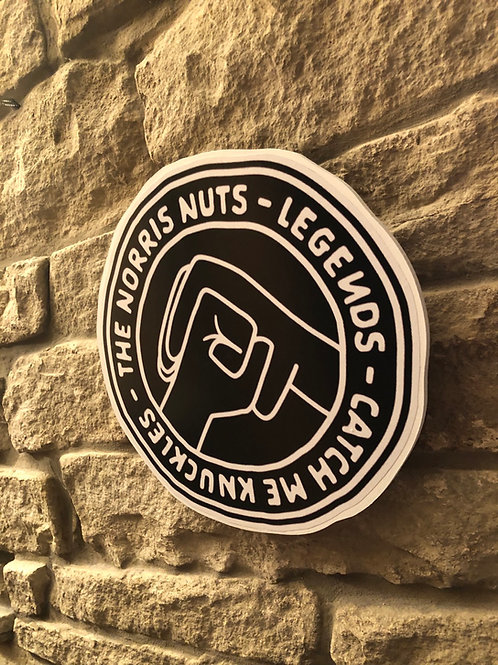 imake The Norris Nuts Wall Badge