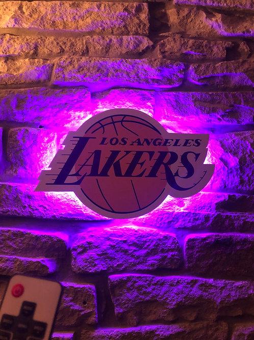 imake NBA LA Lakers Wall Light with remote control