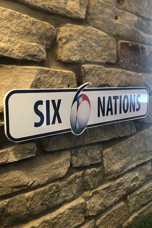 Six Nations Network Signage Wooden Wall Plaque