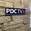 Thumbnail: PDC TV Network Wall Sign