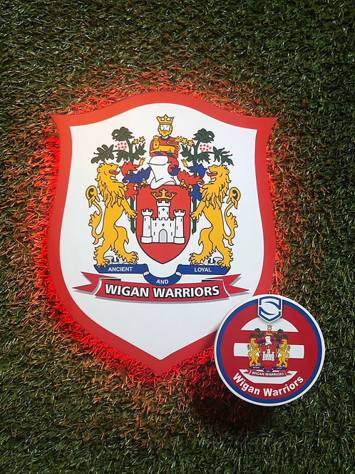 imake Wigan Warriors Wall Light with remote control